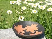 leaf bowl, ceramic bowl, pottery, bowls